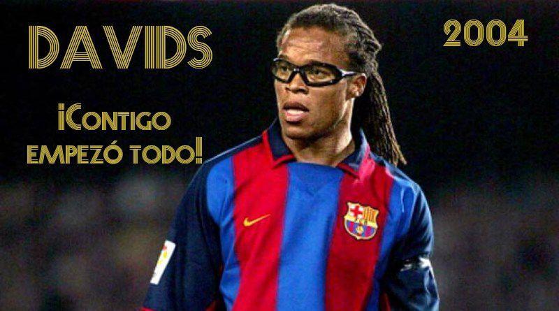 Edgar Davids ficha por el FC Barcelona en 2004