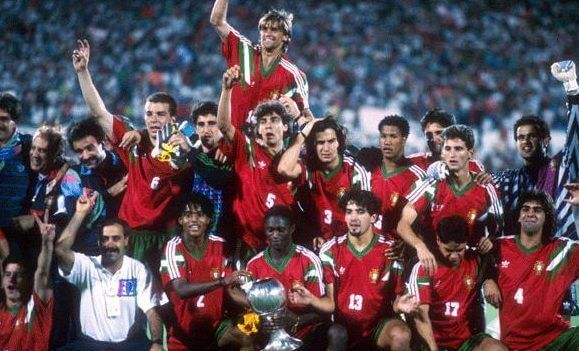 Portugal celebra el Mundial Sub 20 en 1991
