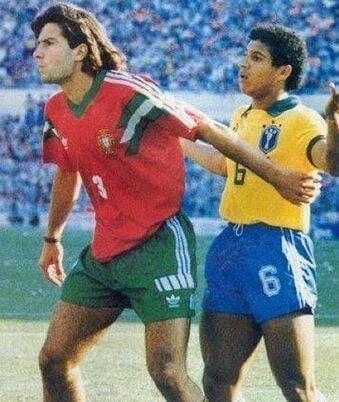 Figo y Roberto Carlos. Mundial Sub 20 (1991)