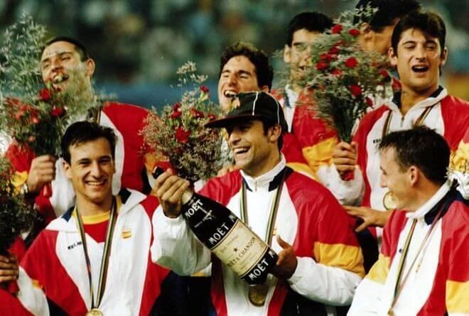 La Quinta de Cobi recoge la medalla de Oro en Barcelona 1992