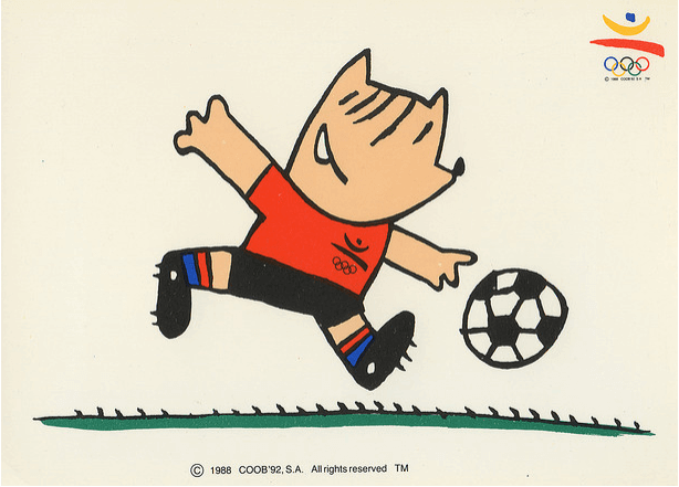 Cobi, mascota de los Juegos Olímpicos de Barcelona 1992