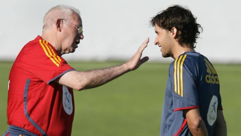 Luís Aragones vs Raúl