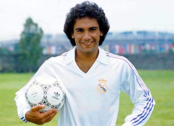 Hugo Sánchez Real MADRID