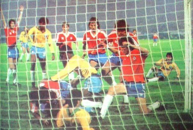 Chile-Brasil 1989