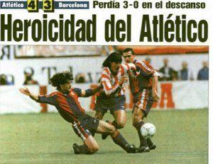 4-3 ATLETI BARÇA 1993