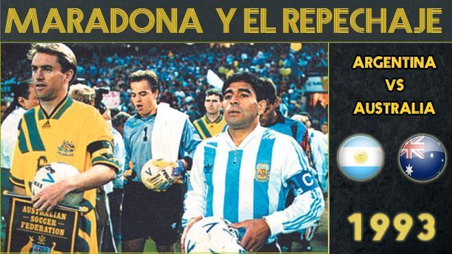 Maradona y el último repechaje