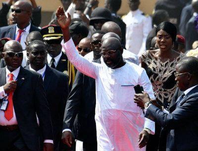 George Weah nuevo presidente Liberia (2018)
