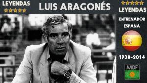 Luis Aragones leyenda muerte 2014