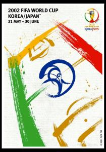 Mundial Corea y Japon 2002 cartel