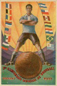 Mundial Uruguay 1930 cartel