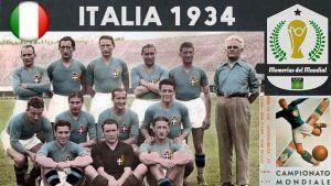 MUNDIAL ITALIA 1934 Memorias del Mundial