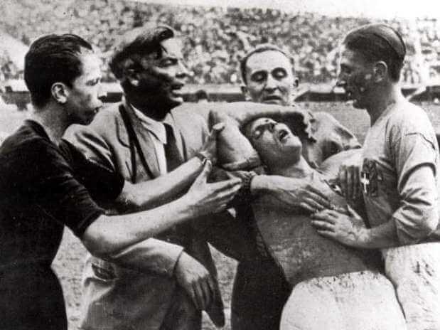 España Italia 1934 Batalla de Florencia