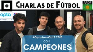 Charlas de fútbol Opta Quiz Campeones