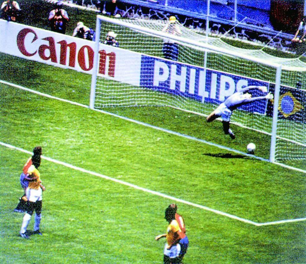 El Gol de Míchel México 1986