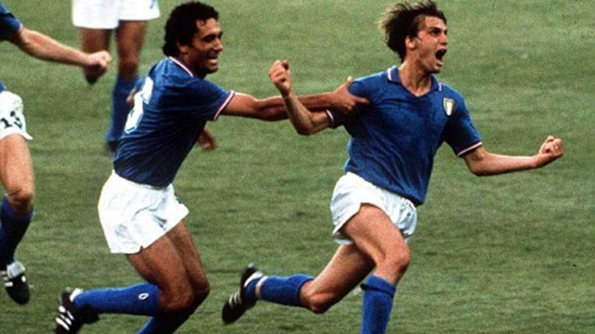 Italia gol Tardelli España 82