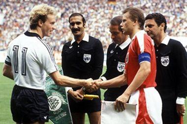 austria alemania amaño mundial españa 1982