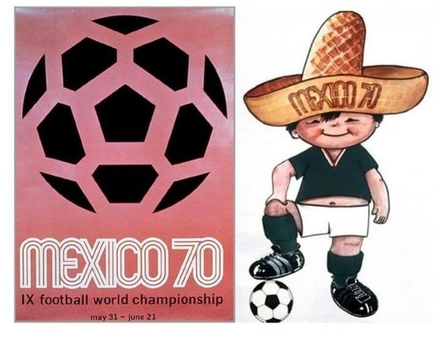 Mundial México 1970 Cartel y mascota