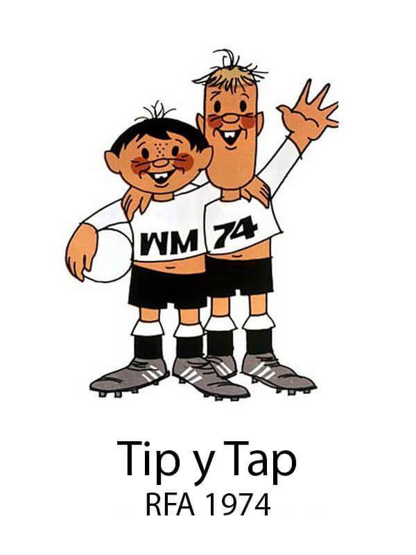Tip Tap Mascotas Mundial 1974