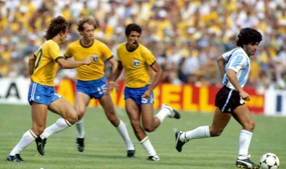 brasil argentina españa 82 mundial