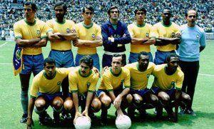 Mundial México 1970 Brasil alineacion