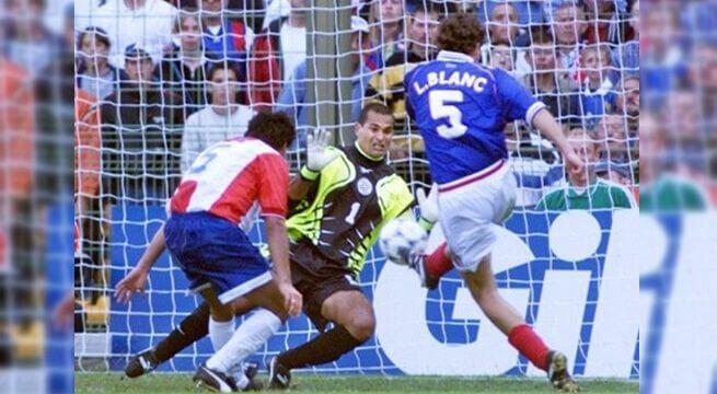 Mundial Francia 1998 Gol de Oro de Blanc