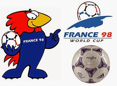 francia 1998 mundial logo