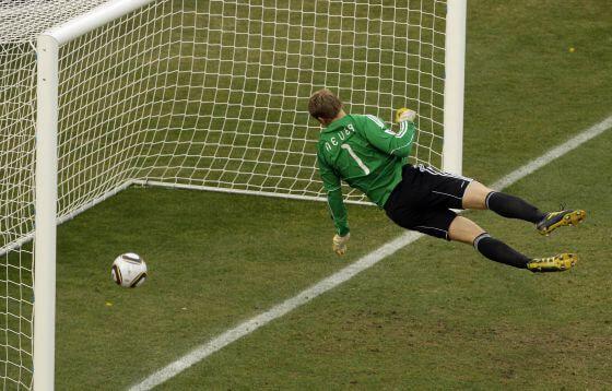 Mundial Sudáfrica 2010 gol de Lampard