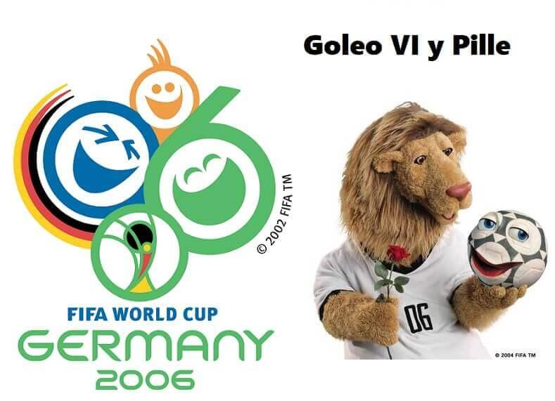 Mundial Alemania 2006 mascota logo