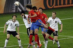 Mundial Sudáfrica 2010 gol de puyol