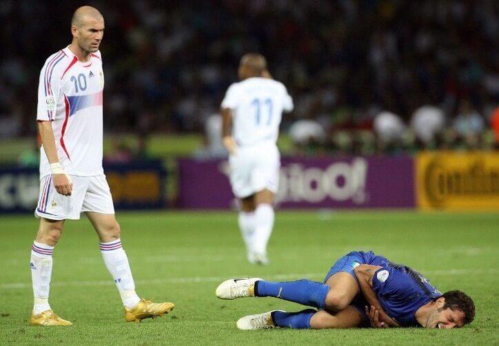 Mundial Alemania 2006 zidane expulsado materazzi