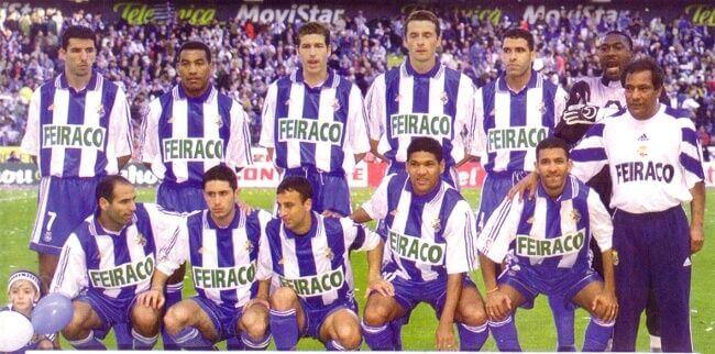 Depor campeón de liga 1999 2000