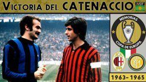 El Catenaccio de Milan e Inter en los sesenta