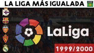 La liga más igualada de la Historia temporada 1999-2000