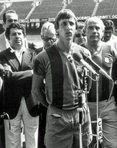 johan cruyff barcelona 1974