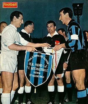 Real Madrid Inter semifinal 1966