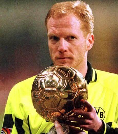 Matthias Sammer Balon de Oro 1996
