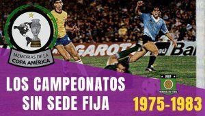 COPA AMERICA 1975 1983