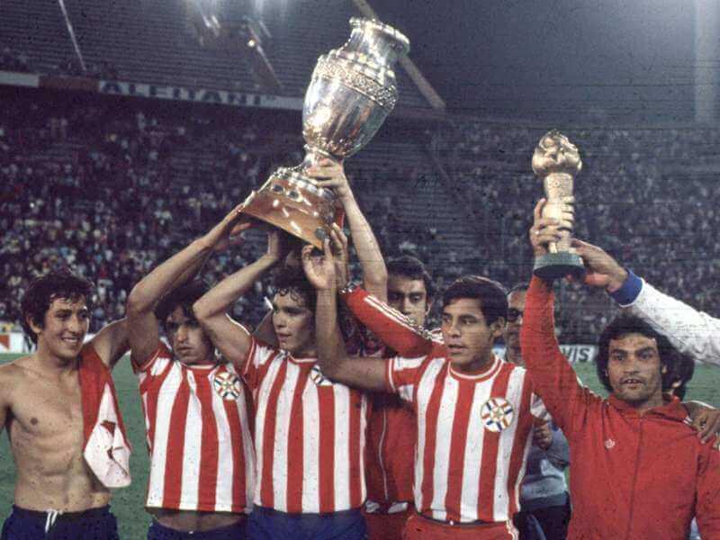 Paraguay Campeon de America 1979
