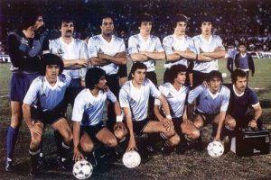 Uruguay Campeon America 1983