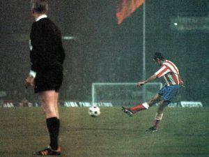 Gol Luis Aragones Copa de Europa 1974