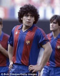 Maradona FC Barcelona 1982