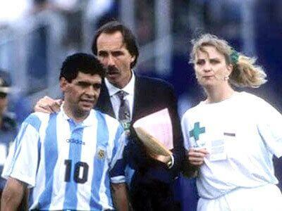 Maradona dopaje Mundial Estados Unidos 1994