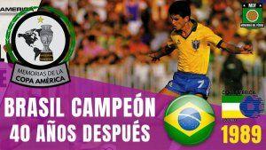 COPA AMÉRICA BRASIL 1989
