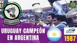 COPA AMERICA Argentina 1987