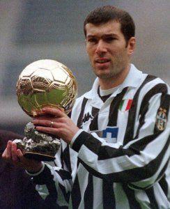 Zidane Balon de Oro 1998