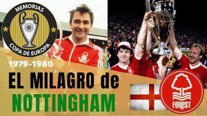 Nottingham Forest Campeón de Europa 1979, 1980