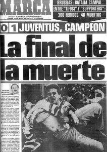Heysel La final de la muerte 1985