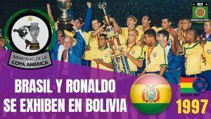 Brasil Campeón Copa América 1997 Bolivia