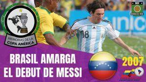 Brasil Campeón Copa América 2007