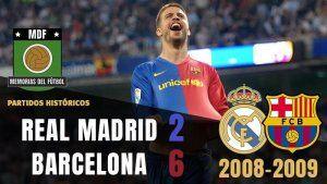 2-6 real madrid barcelona 2009 bernabeu